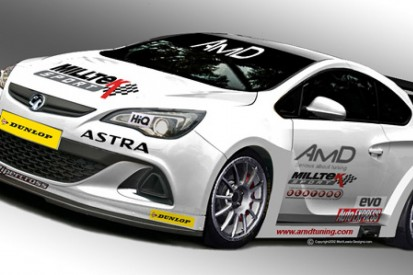 New Vauxhall Astra heads to the BTCC for 2013