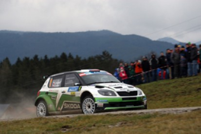 ERC Janner Rally: Jan Kopecky leads in Austria