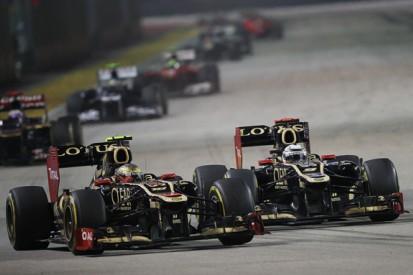 2012's big stories: Lotus's brave driver gamble