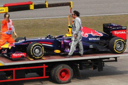 Chinese GP: Mark Webber to start last after fuel issue