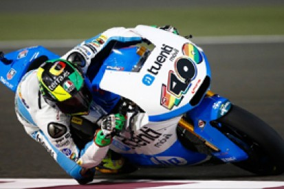Moto2 Qatar: Pol Espargaro takes pole, despite early crash