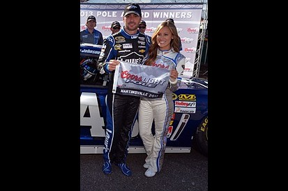 Martinsville NASCAR: Jimmie Johnson takes record pole