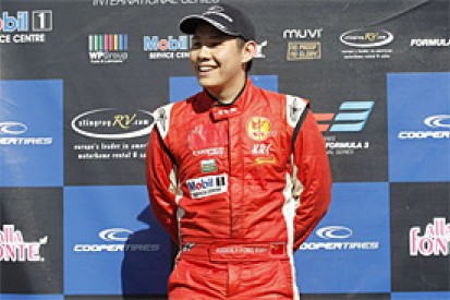 Adderly Fong joins Status' GP3 line-up