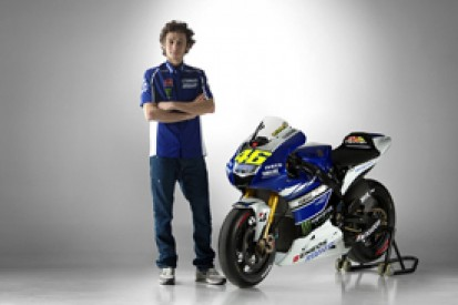Yamaha unveils 2013 MotoGP bikes for Rossi and Lorenzo