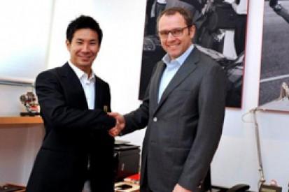 Kamui Kobayashi confirms Ferrari WEC deal with AF Corse