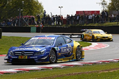 Gary Paffett calls for yellow-flag rules changes in the DTM