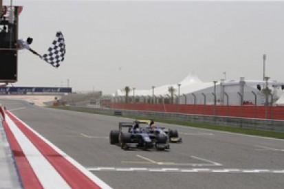 Bahrain GP2: Sam Bird wins thrilling sprint race victory by 0.08s