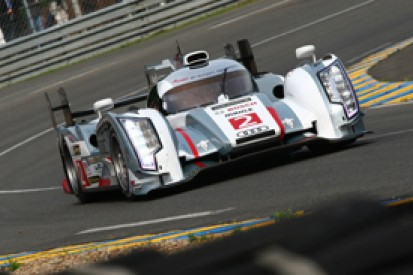 LM24 H20: Loic Duval still leads by nearly two laps for Audi