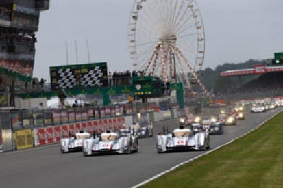 LM24 H1: Audi leads from resurgent Toyotas, safety car out for crash