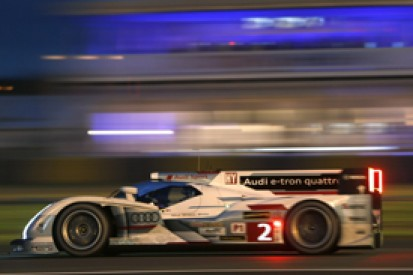 Le Mans 24 Hours: Loic Duval on pole, Audi locks out top three