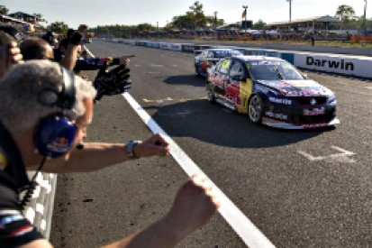 Hidden Valley V8 Supercars: Lowndes fends off Winterbottom for victory
