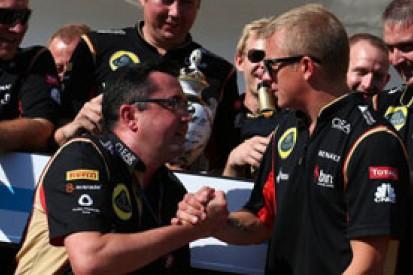 Lotus not bitter about Kimi Raikkonen's Ferrari F1 switch
