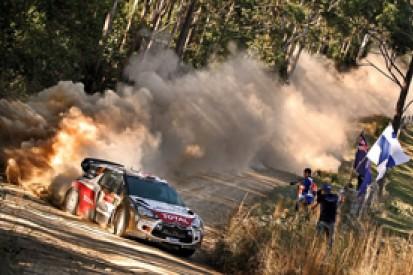WRC Australia: Kris Meeke tops qualifying in works Citroen debut