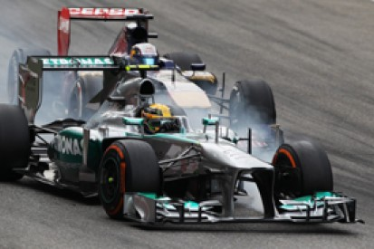 Mercedes denies its 2013 Formula 1 campaign has peaked