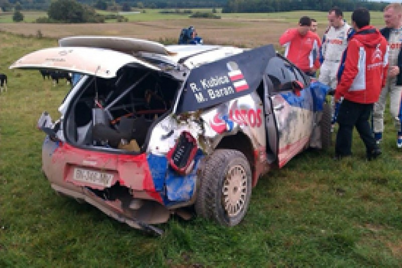 Robert Kubica cleared for ERC Rally Poland after big test crash