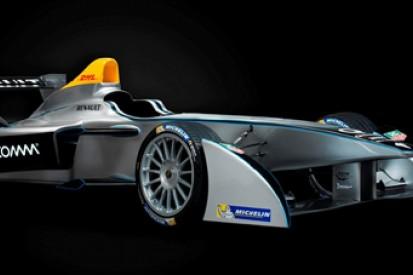Formula E unveils car for inaugural season in 2014