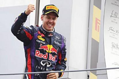Italian GP: Sebastian Vettel laughs off Monza podium jeers