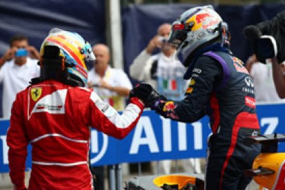 Italian GP: Alonso 2013 title bid now relying on trouble for Vettel