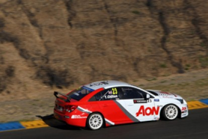 Sonoma WTCC: Tom Chilton claims maiden pole by beating Yvan Muller