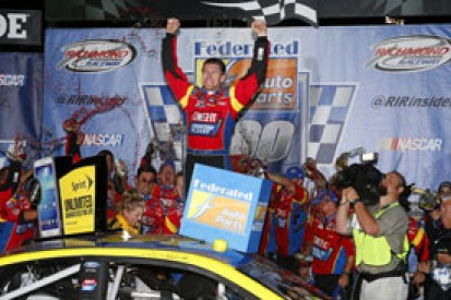Richmond NASCAR: Carl Edwards wins as Chase field set