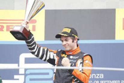 Monza GP2: Adrian Quaife-Hobbs grabs maiden GP2 win