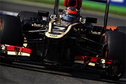 Italian GP: Raikkonen admits Lotus just too slow