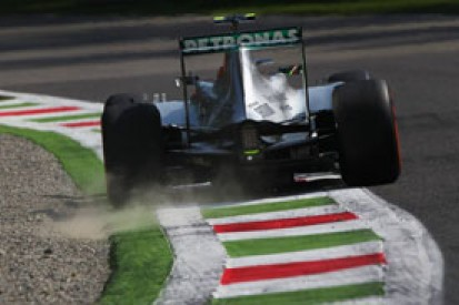 Italian GP: Mercedes reveals Lewis Hamilton had floor damage