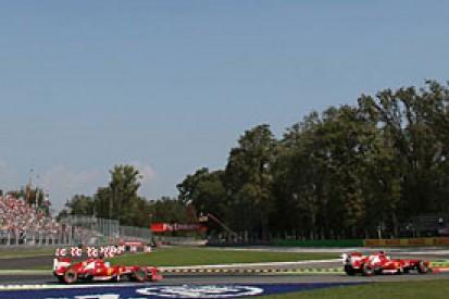 Italian GP: Fernando Alonso denies being angry at Ferrari tactics