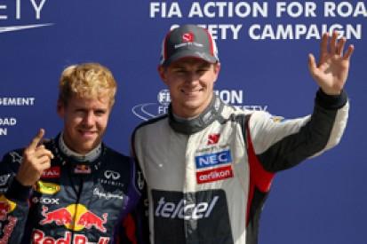 Italian GP: Nico Hulkenberg says third on grid great for 2014 hopes