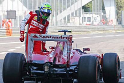 Italian GP: Ferrari fined for Felipe Massa pit mistake