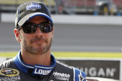 Jimmie Johnson to skip Richmond qualifying due to daughter's birth