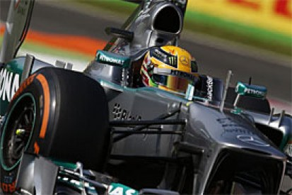 Italian GP: Hamilton says Mercedes needs more pace to match Red Bull