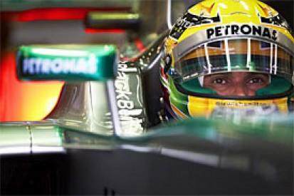 Italian GP: Lewis Hamilton leads opening Monza practice