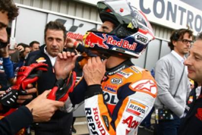 Silverstone MotoGP: Marc Marquez doubted he would race after crash