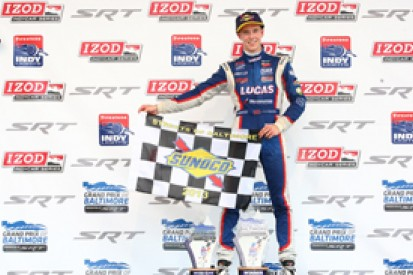 Baltimore Indy Lights: Jack Hawksworth takes dominant win