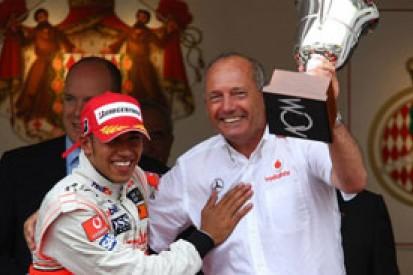 Ron Dennis did not try to block Lewis Hamilton's McLaren F1 exit