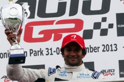 Donington Auto GP: Narain Karthikeyan claims fourth victory
