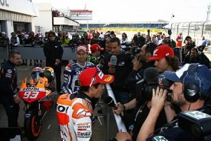 Silverstone MotoGP: Marc Marquez insists Jorge Lorenzo is favourite