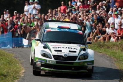 Zlin ERC: Jan Kopecky cruising, Roman Kresta hits trouble