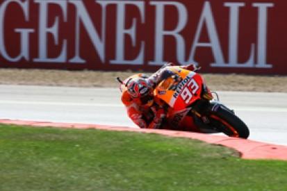 Silverstone MotoGP: Marc Marquez fastest as Cal Crutchlow crashes