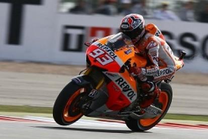 Silverstone MotoGP: Marc Marquez denies Jorge Lorenzo pole