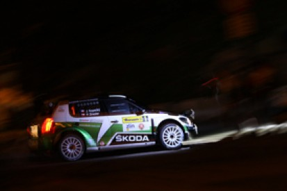 Zlin ERC: Jan Kopecky in charge after Friday evening superspecial