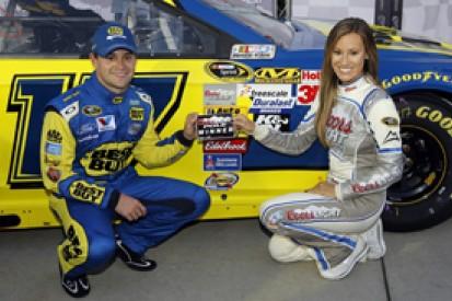 Atlanta NASCAR: Ricky Stenhouse Jr claims first Cup pole