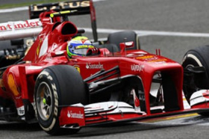 Felipe Massa says he was unable to show his true pace in Belgian GP