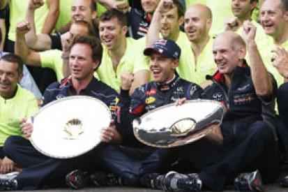 Red Bull taken aback by Sebastian Vettel's dominance in Belgian GP