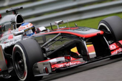 Belgian GP: Jenson Button says McLaren too nervous in Spa strategy