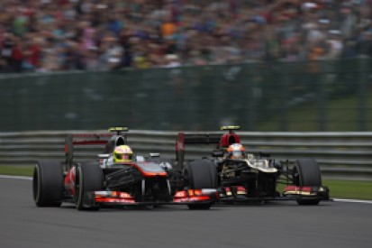 Belgian GP: McLaren says rivals ganging up on Sergio Perez