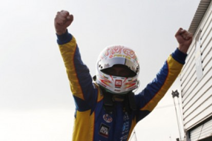 Knockhill BTCC: Andrew Jordan closes points gap with victory