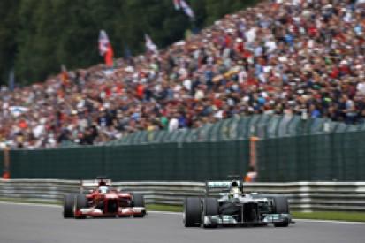Belgian GP: Mercedes surprised by Ferrari - Nico Rosberg