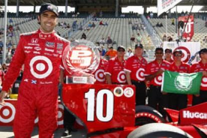 Sonoma IndyCar: Dario Franchitti heads Ganassi qualifying one-two